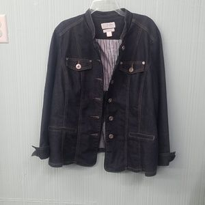 C.J. Banks denim jacket